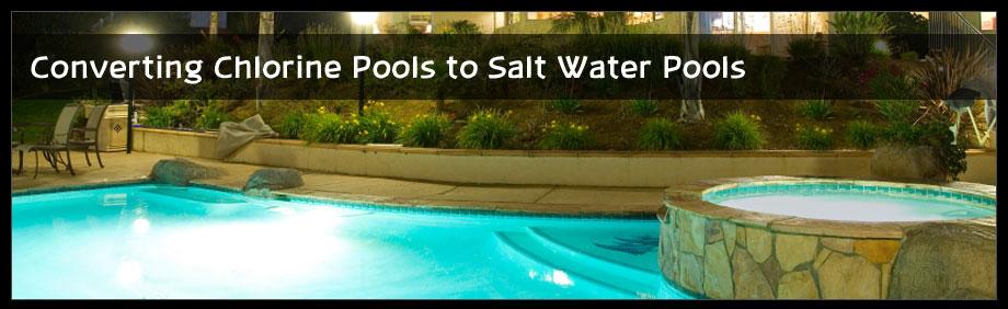 Salt Water Pool Systems Chlorine Generators For Salt