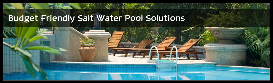 salt water pool system